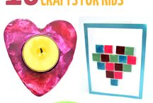 Valentines Day crafts and gifts / crafts, gifts, and activities for moms and kids for Valentines Day