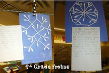 Teach: Winter-Theme Activities / Winter-theme activities for the elementary classroom / by Kristina Kroon