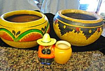 Southwest & Mexican Style / This board features Southwest and Mexican style pottery, linens, art, etc. / by More Than McCoy