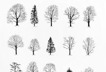 Trees: Doodles & Drawings / by south