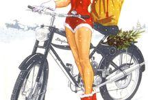 Skylon moped