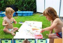 Sommer Beschäftigungsideen mit Kindern