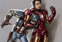 Fantastical Avengers Art / Avengers: Age of Ultron is here! Get pumped for the movie through the eyes of these talented artists who've brought your favorite characters to life.  Enter the world of Marvel and Joss Whedon!  https://studiovox.com/blog/archive/2015/04/24/fantastical-avengers-art