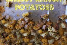 Food- Potatoes / by Kendra Manganaro