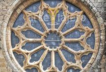Rosetón / Colección de rosetones y óculos de época medieval