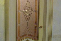 витраж #двери   #stainedglass