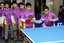 5 day Table Tennis training camp for students of grade IV to IX & XI @ Ramagya School Noida