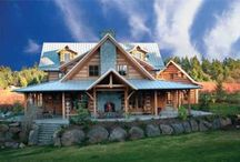 LOG HOMES / Dreamy Log Homes