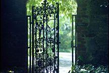 Doors, gates, latches etc.