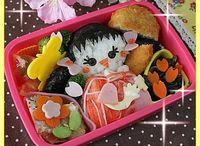 弁当 キャラ弁 春 spring / 春 卒園 卒業 入園 入学 お花 ひな祭り