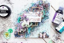 Lavender Collection / A beautiful new collection by Prima filled stunning flowers, exquisite details, and wonderful foiling!