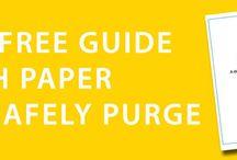 Organizing: Paperwork