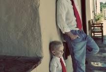 foto vader en kind