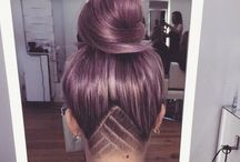 Undercut long hair