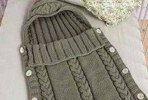 Děti - pletení