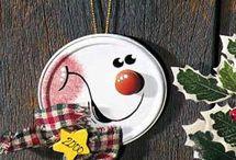 Homemade Christmas Ornaments / by Leah Adamowicz