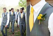 Mustard/Gray Wedding / by Miranda Holman