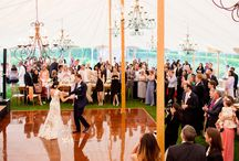 July tented wedding