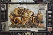 Steampunk Art | steampunkdistrict.com / by SteampunkDistrict.com }