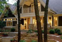 Curb Appeal / How to add curb appeal to your home. Everything from shrubs, perennials and annuals along with curb appeal design plans. / by Four Generations One Roof