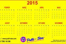 2015 / Calendario