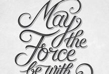 Typography / Several typographic work that I like or I make