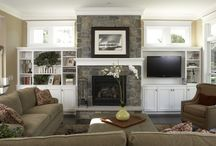 family rooms/ living rooms  / by Jessica Culbertson