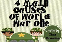 World War I / by Amber and Garr Baker