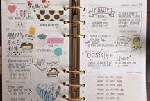 Planner Journal Doodle