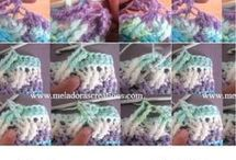 Crochet blanket covers