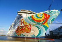 Круизы, теплоходы, море, путешествия / Самое лучше на круизную тему и о море.