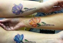 Sister Tattoos / Sister tattoos are some other very unique body art that are gaining more and more popularity in the entire world. http://fabulousdesign.net/sister-tattoos/