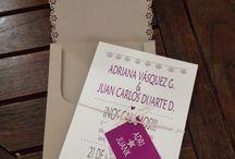 Tarjetas de matrimonio / Se hace todo tipo de invitaciones para matrimonios!