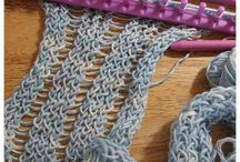 Knitting and loom