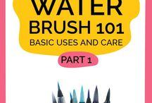 Water Brush Tips