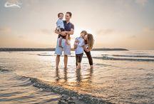 Family Maternity / Beautiful family maternity portraits on the beach