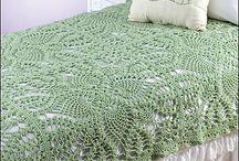 Crochet bedcover