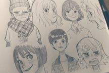 Awesome sketches and drawings / Most of them are ryo murata's(they're so cool)but I saved some other really cool stuff that you should check out(credit to the artists)