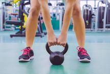 Kettlebell Exercises / Did you know you can burn 400 calories is 20 minutes using a kettlebell? Check out the best kettlebell workouts and exercises here.