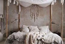 boho sleeping room