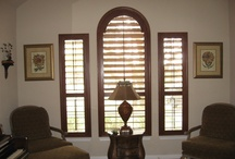 AWF | Real Wood Plantation Shutters / At Austin Window Fashions, we sell locally made, real wood Plantation Shutters. Our shutters aren't just made in the USA, they are Totally Texan!