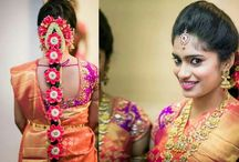 South Indian Bridal Front Hairstyle