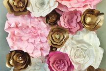 Pink, Gold, White decorations