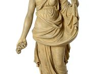 Garden Statues Oct 2014 / Small selection of garden statues being offered at auction on 21st and 22nd October 2014
