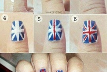 one direction nails art / One direction / by Veronica Meilssa Pappas