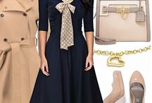 Favourite outfits / romantic and vintage styles