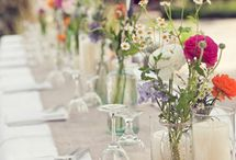 Dinner decor  / by Pedaling Designs