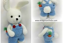 Crochet Bears and Dolls
