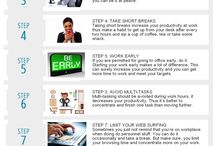 Productivity Tips / Here we have pinned some great posts which can help you to increase your productivity and be the best.