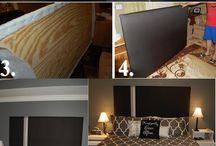 Headboards/bed ideas / by Missy Jebeles